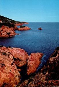 France L'Esterel et ses roches rouges