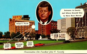 Texas Dallas President John F Kennedy Assassination Site