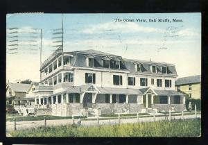Oak Bluffs, Massachusetts/Mass/MA Postcard, The Ocean View Restaurant, Cape Cod