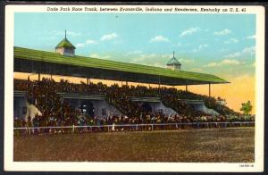 Dade Park Race Track,Between Evansville,IN and Henderson,KY BIN
