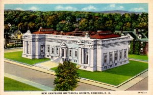 Concord, New Hampshire - The New Hampshire Historical Society - in 1937