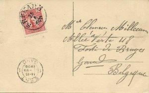 sweden, ESKILSTUNA, Kungsgatan (1920) Postcard