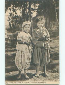 Divided-Back CHILDREN SCENE Great Postcard AA6120