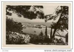 RP SPLIT, Croatia, Pogled sa Marjana, 30s Harbour view
