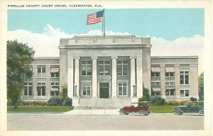 Pinellas County Court House Clearwater Florida White Border Postcard
