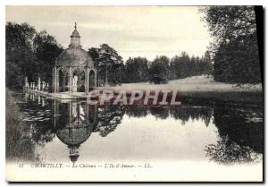 Old Postcard Chantilly Chateau IIIe The Love