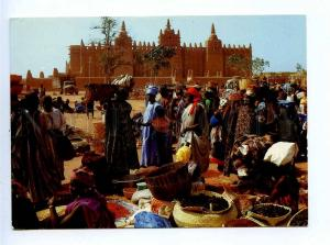 196044 MALI SONGO market Old photo postcard