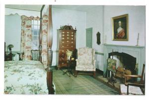 Williamsburg VA Wythe House Bed Chamber Bedroom Interior