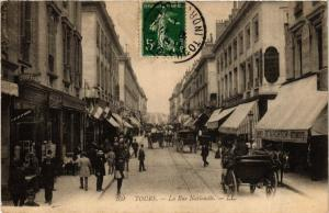 CPA Tours La Rue Nationale (611589)