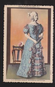 Dress Of Sarah Childress Polk, Smithsonian - Unused