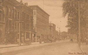 BARRE , Vermont , 1900-10s ; Main Street