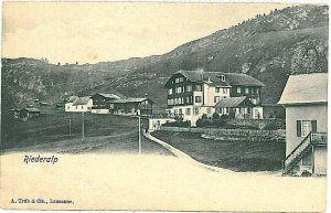 Ansichtskarten Schweiz VINTAGE POSTCARD: SWITZERLAND - RIEDERALP