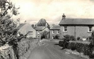 Vintage Real Photo Postcard, Priest Hutton, Lancashire 39V