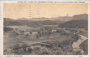 Casino Golf Course , WHITE SULPHUR SPRINGS , West Virginia , PU-1934