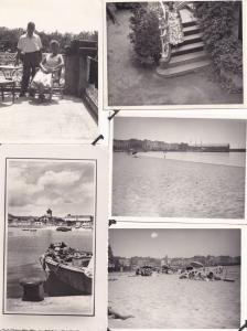 Palamos Spanish Fruit Markets Boats 1950s Postcard & Photo 22x Bundle