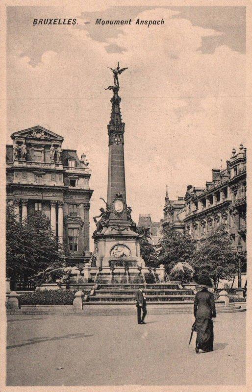 Monument Anspach,Brussels,Belgium BIN