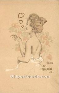 La Favorite II Edit. E Storch Vienne. VT. Artist Raphael Kirchner Unused very...
