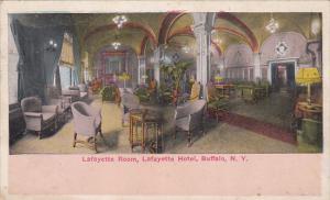 BUFFALO, New York; Lafayette Room, Lafayette Hotel, PU-1917