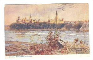 Parliament Bldgs , OTTAWA , Ontario , Canada ; TUCK Oilette # 2242 series : P...