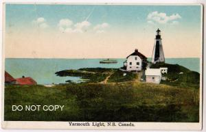 Yarmouth Lighthouse, NS Canada