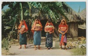 Panama; Ethnic, San Blas Indians PPC, 1954 PMK To Mr Derry, Ilford 2