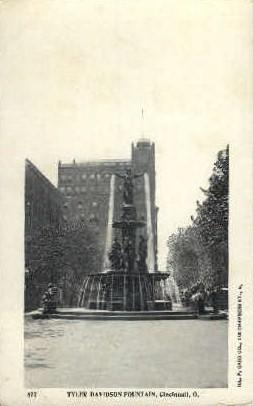 Tyler-Davidson Fountain Cincinnati OH Unused