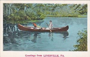 Pennsylvania Greetings From Linesville 1909