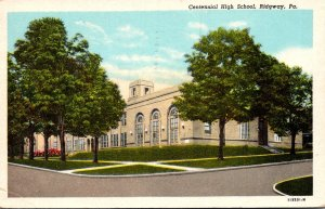 Pennsylvania Riidgway Centennial High School 1929 Curteich