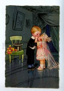 199087 KIDS WEDDING Kiss ART DECO by COLOMBO Vintage GAM PC