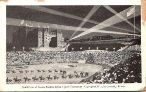 Washington Tacoma Night Scene At Tacoma Stadium During Military Tournament