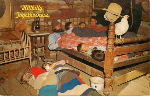 Eureka Springs AR~Hillbilly Togetherness~1960s Postcard