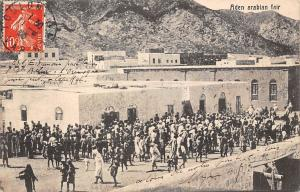 Yemen Aden Arabian Fair, Native People, Crowd 1909