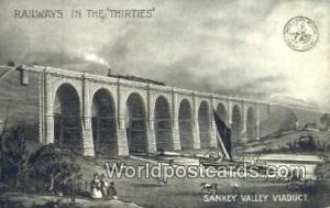 United Kingdom, UK, England, Great Britain Railways in the Thirties Sankey Va...