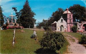 Brooklyn Michigan~St Joseph Shrine~Cemetery~Pilate's House~1955 LL Cook