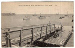 Rockland, Maine, Yacht Club Landing, Rockland Harbor