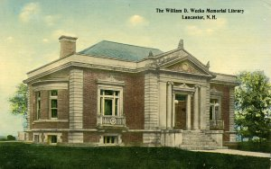 NH - Lancaster. William D. Weeks Memorial Library