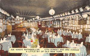 N.Y. A Little bit of Old New York, Joe King's Rathskeller