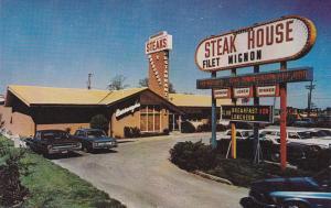 Burroughs Bel Aire STEAK Restaurant , NORFOLK , Virginia, 1986