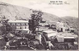 Peru - Banos de Yura 1911 Photo