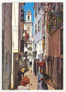 Lisboa - Portugal. Alfama, Barrio de Alfama, 50-60s