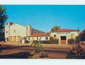 Unused Pre-1980 CHURCH SCENE Fresno California CA hs6734