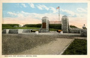 CT - Groton. Fort Griswold, New Gate
