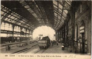 CPA  Dijon - Le Hall de la Galre - The Large Hall of the Station  (586736)