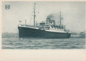Oceanliner S.S. NEW YORK , Hamburg-Amerika Linie , 1920-30s