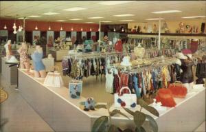 Costa Mesa CA The Wet Seal Clothing Store Interior E 17th St. Postcard