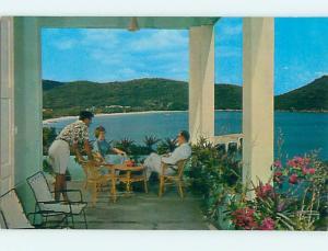 Unused Pre-1980 TROPIC ISLE HOTEL IN ST. THOMAS US Virgin Islands USVI Q5126