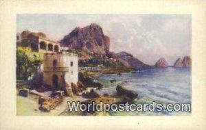 Marina Piccola e I Faraglioni Capri, Italy Unused