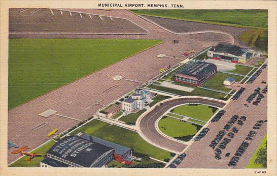 Tennessee Memphis Municipal Airport 1940