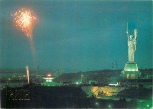 Postcard Ukraine Kiev Monument of the Motherland WWII 1941-1945