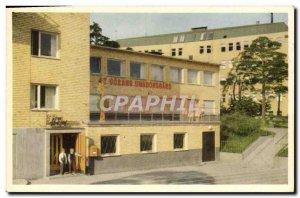 Postcard Old Stockhom St Goran Ungdomsgard Hotell Arken